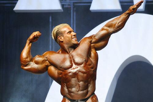 Jay Cutler beim Mr. Olympia 2006
