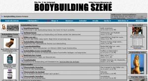 Bodybuilding Szene Forum