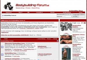 Das Bodybuilding Forum in Österreich