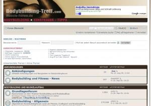 Das Bodybuilding Treff Forum