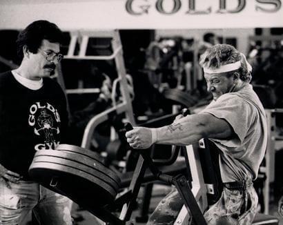 Dorain Yates und Mike Mentzer