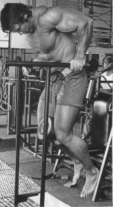 Arnie macht Dips