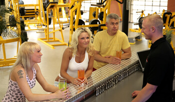 Im Fitness Studio Temple Gym Dresden
