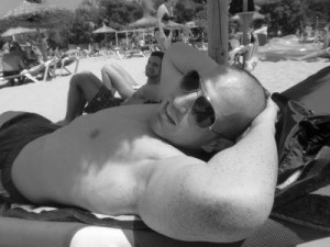 Thomas im Urlaub