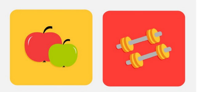 zunehmen essen und training