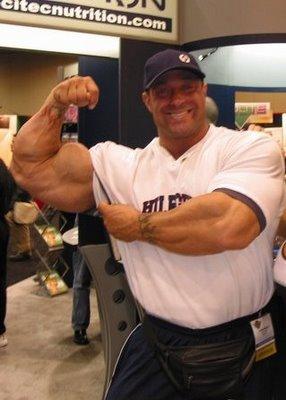 Eddie Moyzan´s unglaublicher Arm