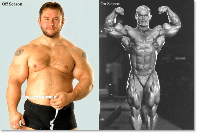 Off Season Lee Priest