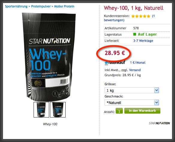 Preis Whey-100