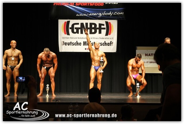 Benny Braun - Deutscher Meister Natural Bodybuilding