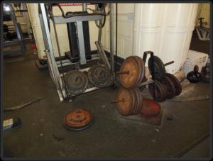 Temple Gym Nautilus Überzug Maschine