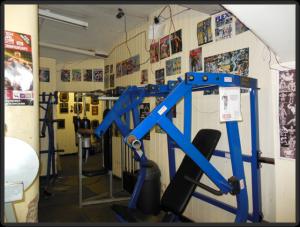 Temple Gym Geräte