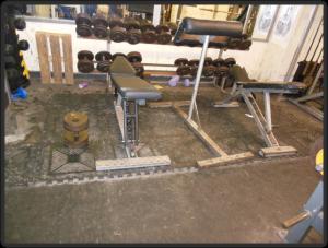Temple Gym Hantelbereich