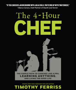 Vorderseite Buch The 4-Hour Chef