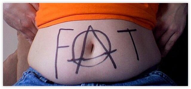 Fett am Bauch ist unsexy