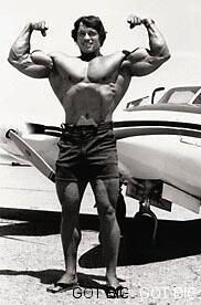 Arnold in jungen Jahren