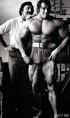 Arnold Schwarzenegger und Joe Weider