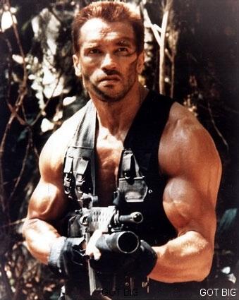 "Arnold im Film ""Predator"""