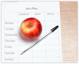 Mein flacher Bauch Ernährungsplan