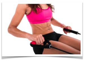 flachen Bauch bekommen durch Sport?