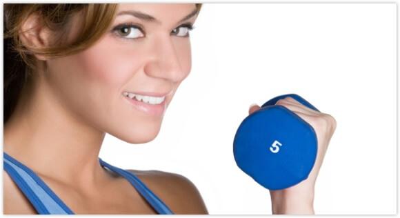 Training für einen flachen Bauch