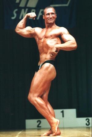 Andreas Müller 2002 im Alter von 40 Jahren