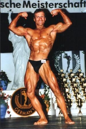 Andres Müller bei der NABBA-Teilnahme 1999
