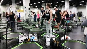 FIBO 2016 Jumping Fitness