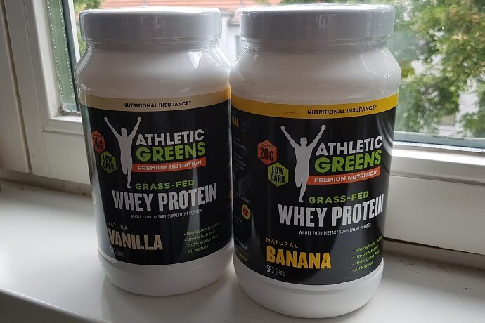 Grass-Fed Whey Behälter