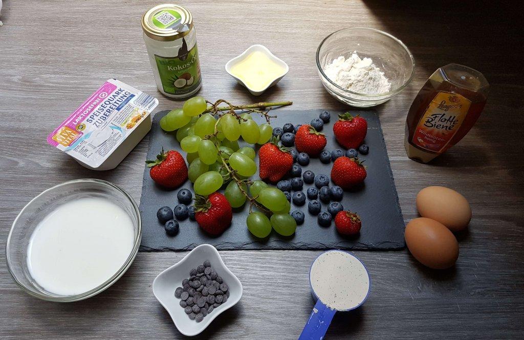 Protein Pancakes Zutaten