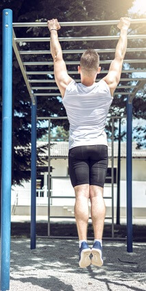 Bodyweight Training mit Klimmzügen