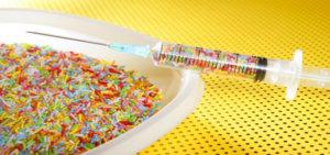 lebensmittelinhalte zuckerspritze