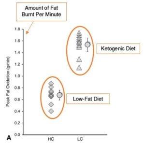 Fettverbrennung Keto-Diät