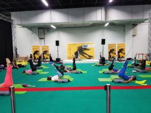 fibo 2017 gemeinsames yoga