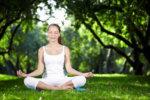 meditieren frau