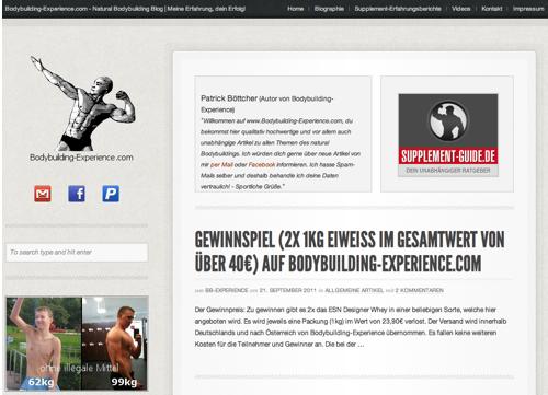 Bodybuilding-Experience.de